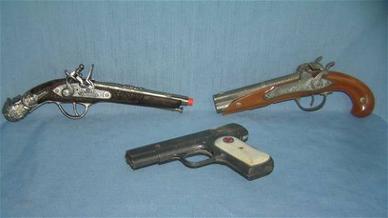 Group of 3 vintage toy guns