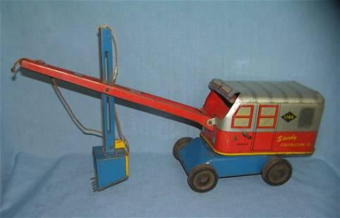 Wyandotte Toys diesel construction excavating toy