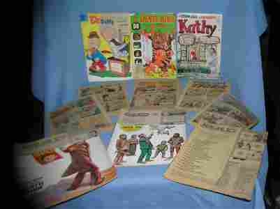 Group of vintage comic related comic books