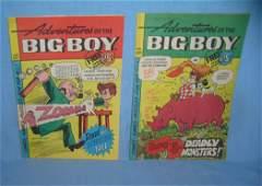 Pair of Bobs Big Boy Adventures comic books