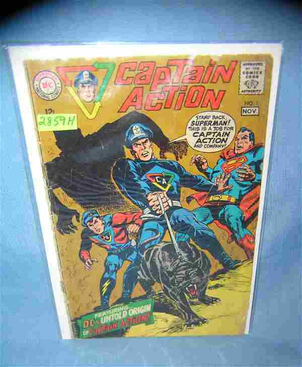 Captain Action first edition comic book