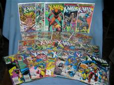 Great collection of early Xmen comic books