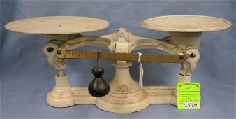 Antique cast iron scale