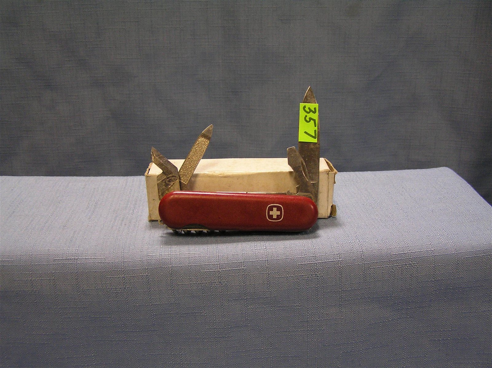 Vintage Swiss Army knife made in Switzerland