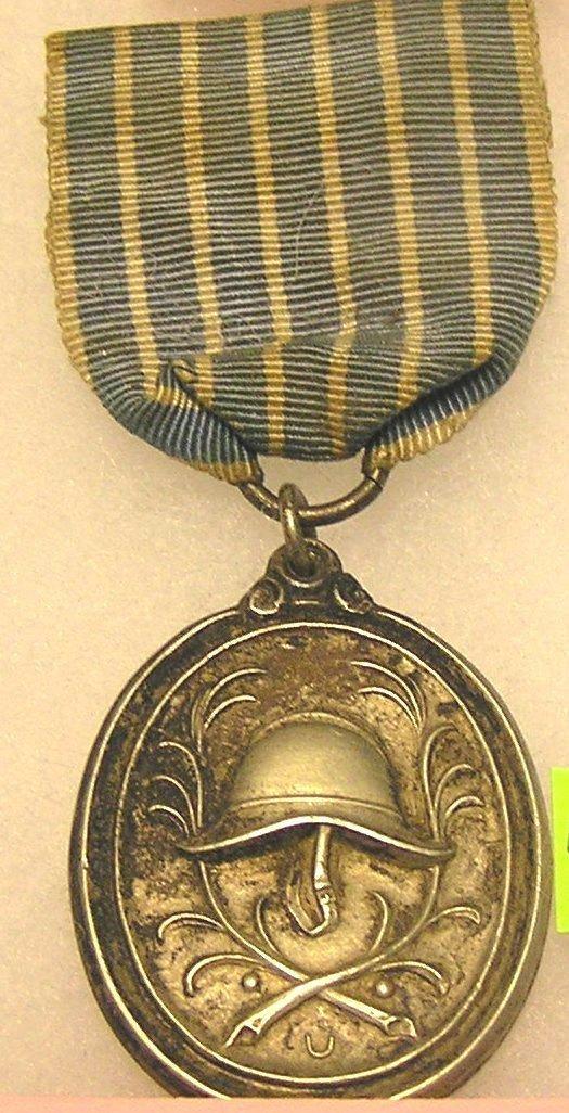 WWI German army 25 year service medal