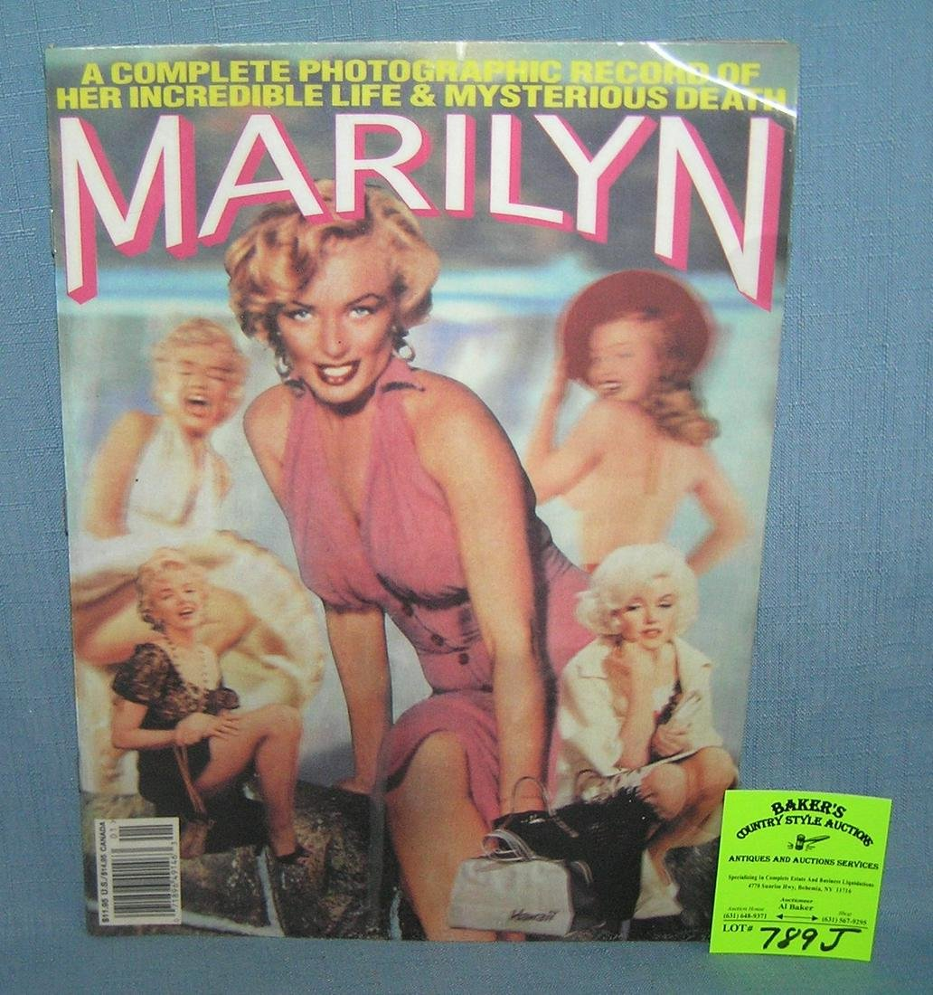 Marilyn Monroe photographic history book