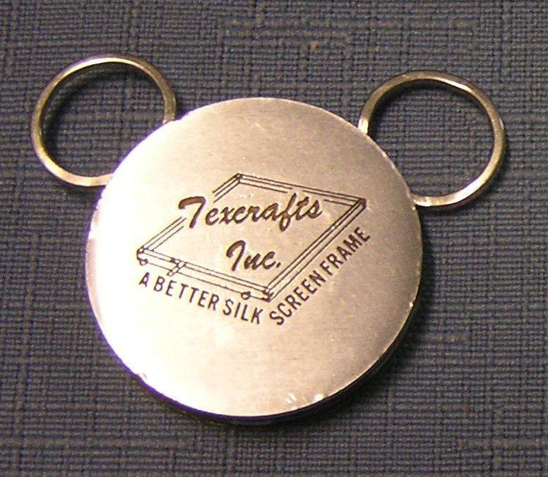 Tex Crafts Inc. advertising key chain