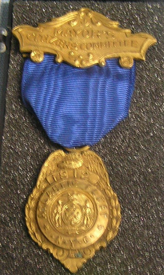 Antique Mayor's citizen com. Atlantic fleet badge