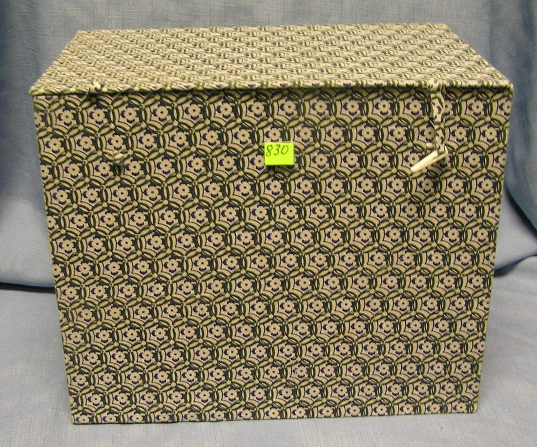 Quality hinged storage box