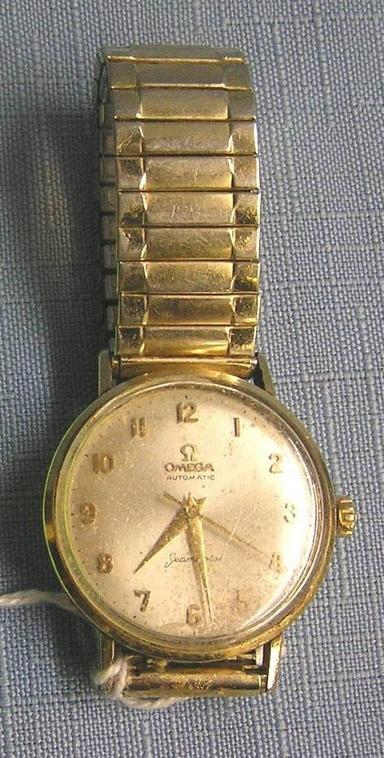 Early Omega Seamaster gentleman's wrist watch