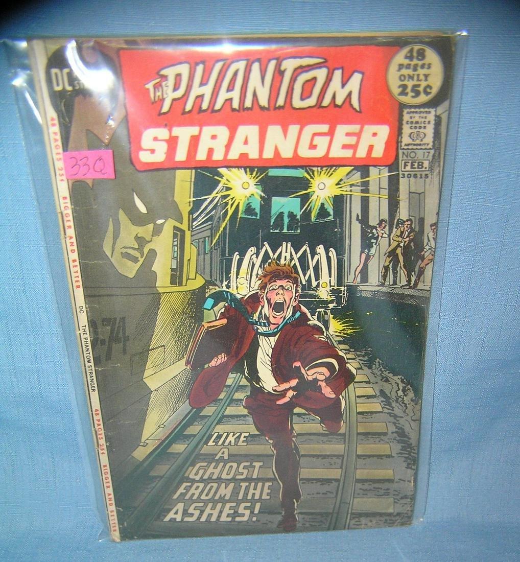The Phantom Stranger early DC comic book