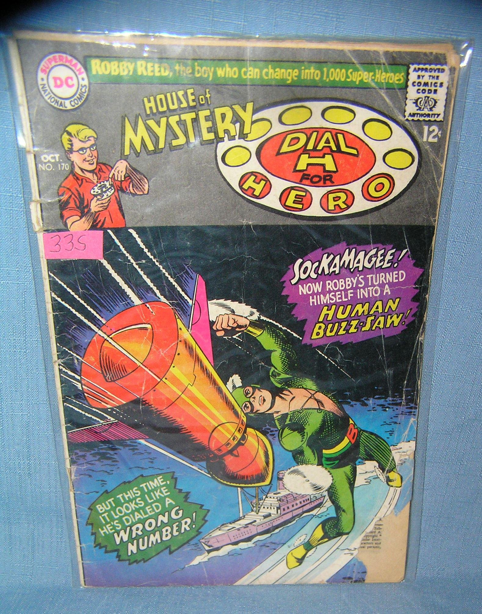 Early House of Mystery comic book