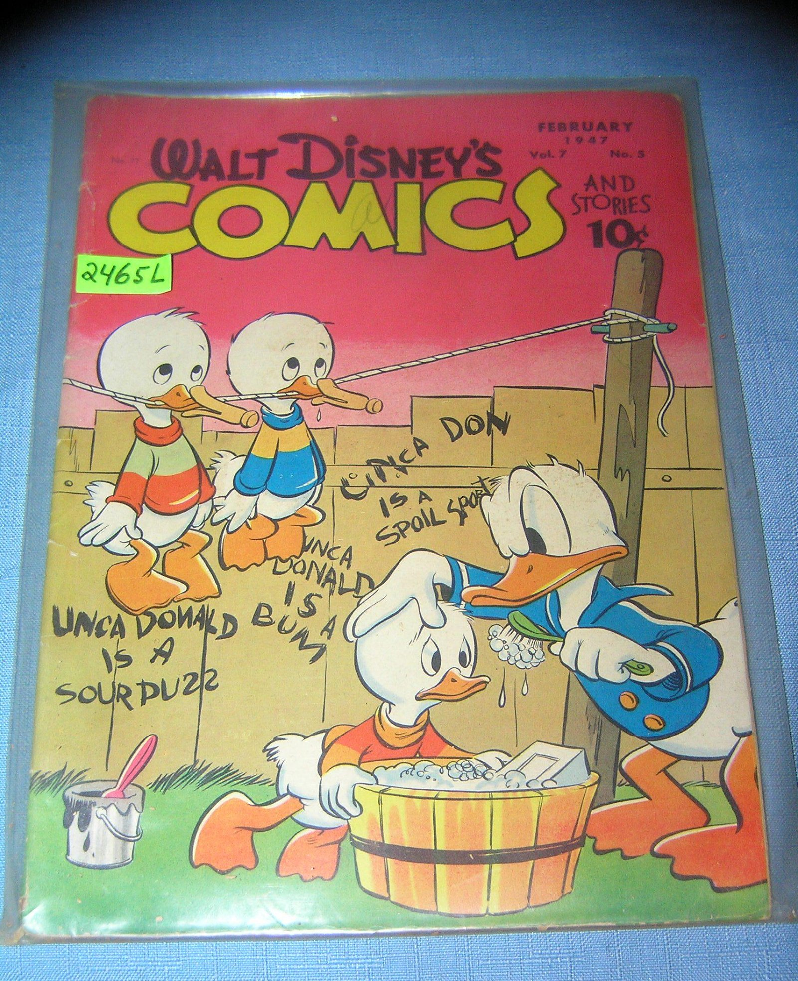 Disney comics and stories 10 cent comic book