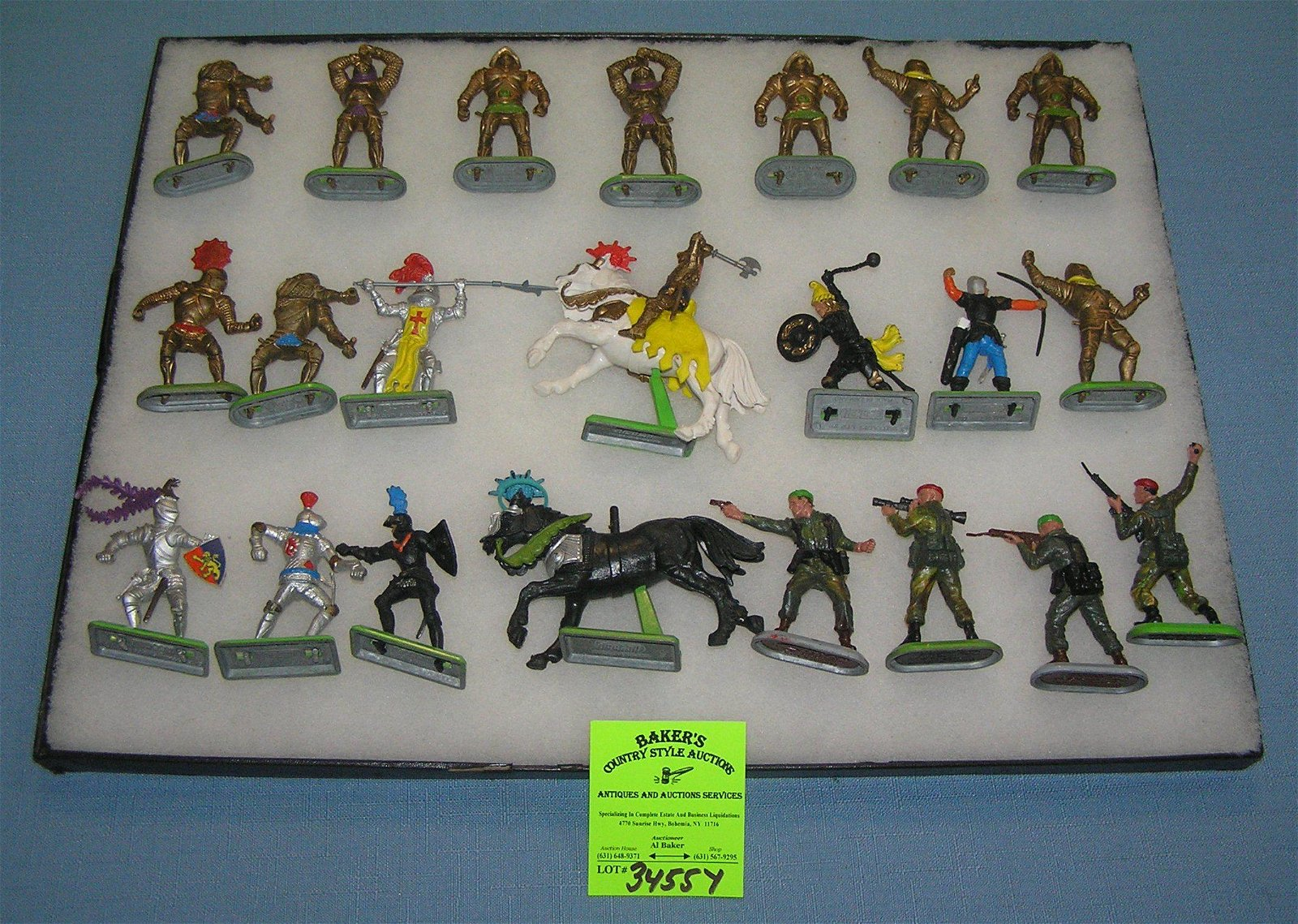 Britain's toy soldiers and warriors