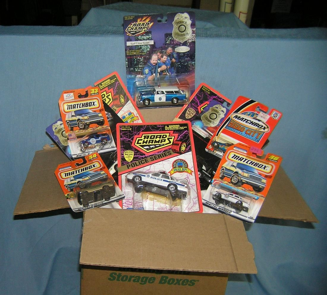 Matchbox and Road Champs diecast collector cars