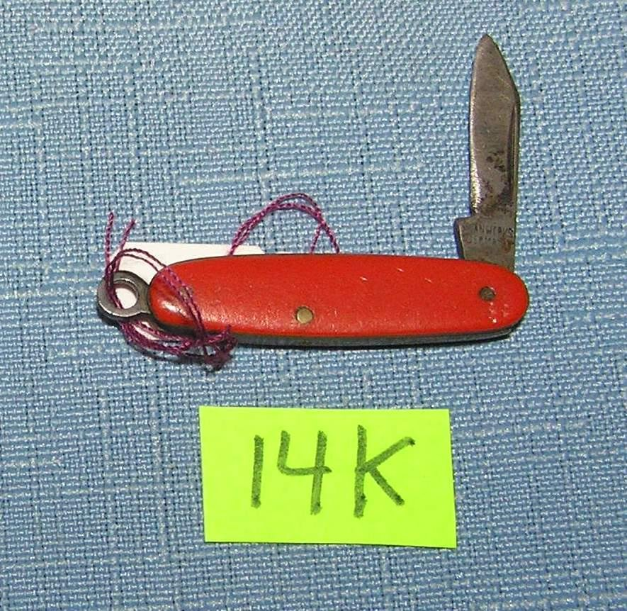 Vintage miniature pocket knife by Swann Works