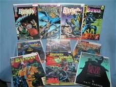 Collection of vintage Batman comic books