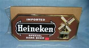 Heineken imported beer advertising display sign