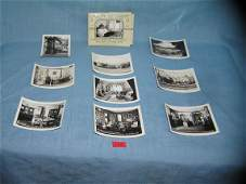 Group of vintage BW photos from the home of FDR