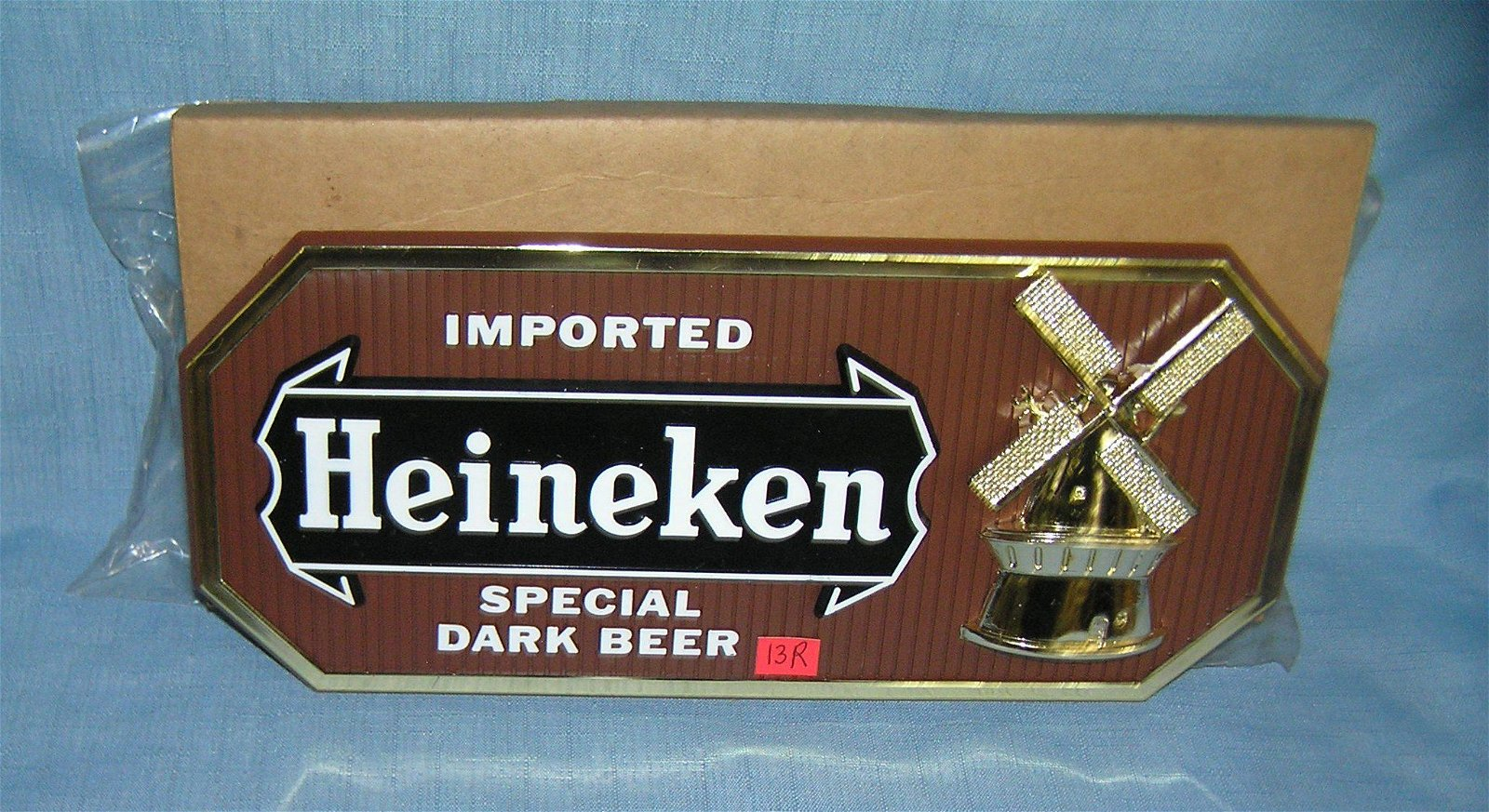Heineken imported beer advertising display sign