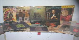 Large collection of vintage record albums