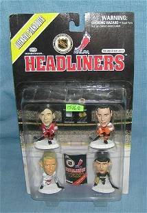 Group of 4 Hockey all star sports figures