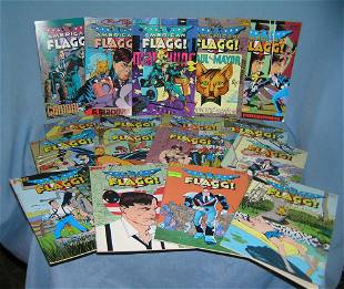 Collection of American Flagg comic books