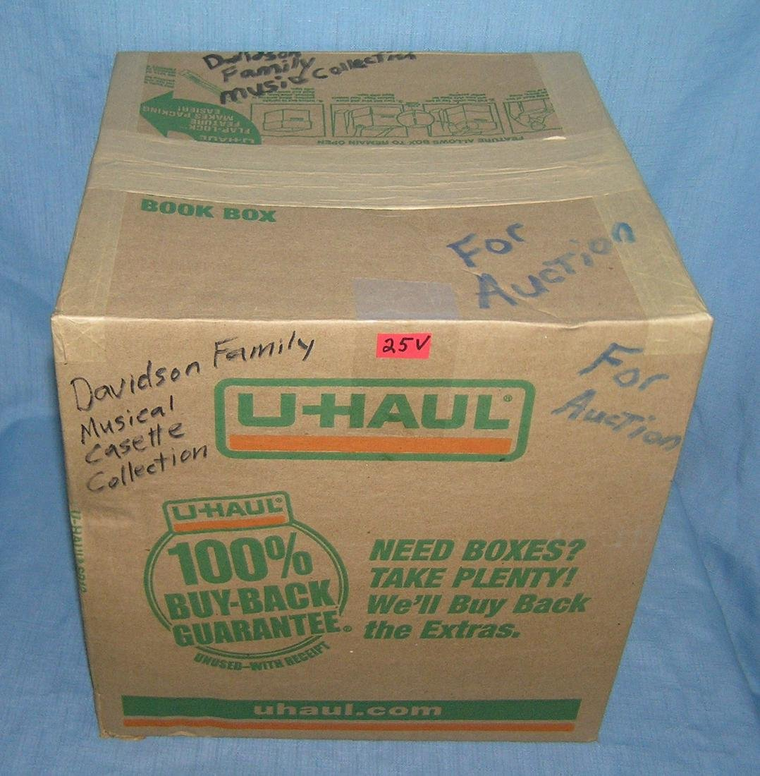 Mystery moving and storage Co. box lot marked Davidson