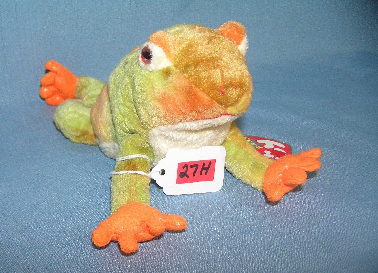 Vintage Prince Beanie Baby frog