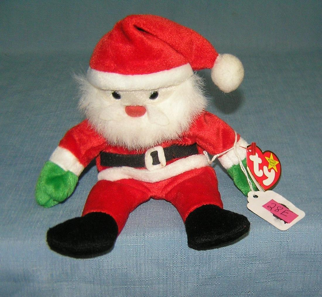 Vintage Santa  Beanie Baby toy