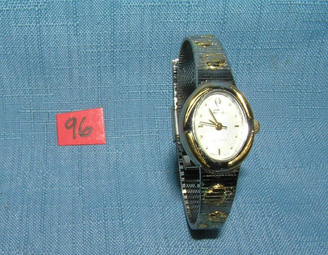 Vintage Fulanze silver and gold toned wrist watch