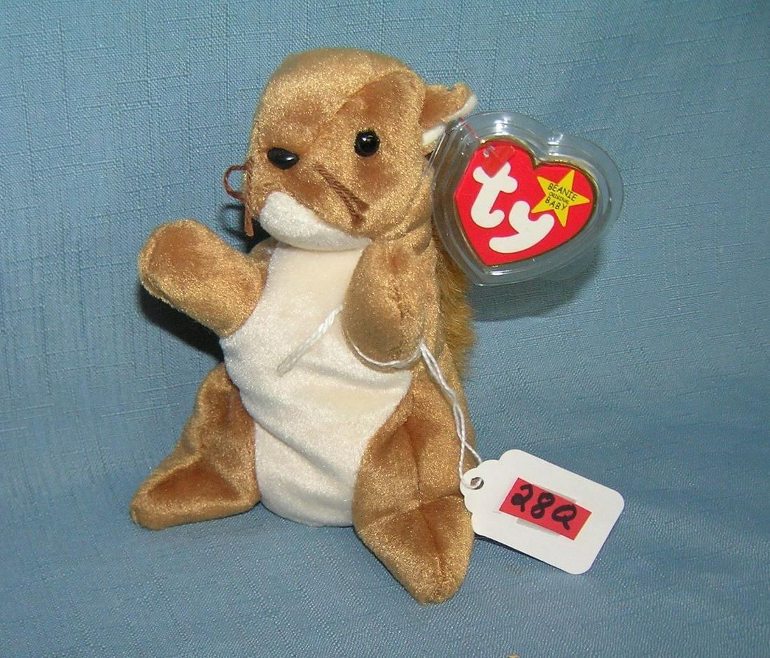 Vintage Nuts Beanie Baby Squirrel