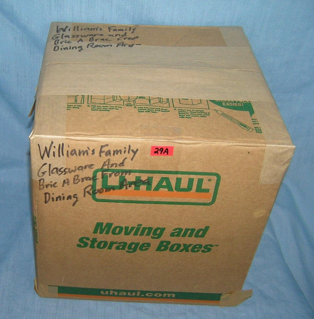 Moving and Storage Company box lot