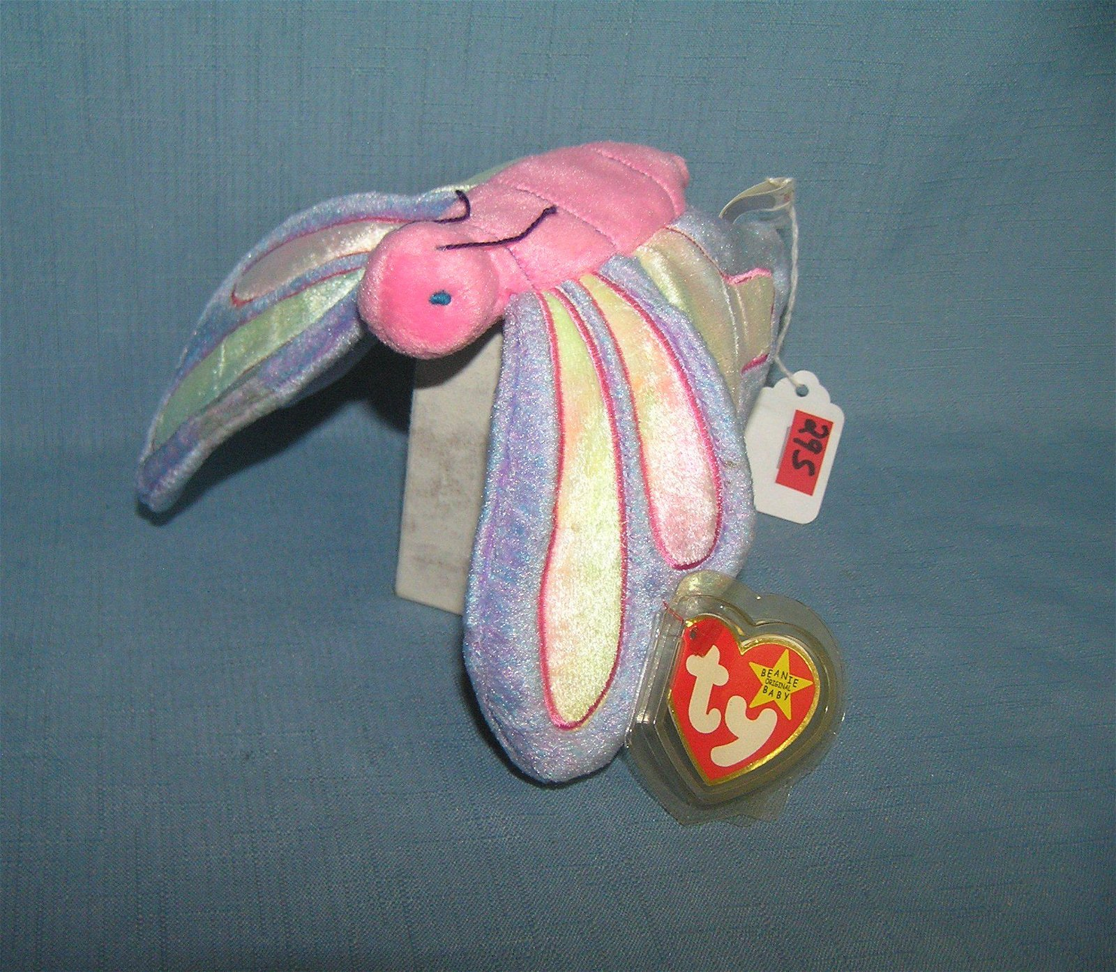 Vintage Flitter the butterfly Beanie baby