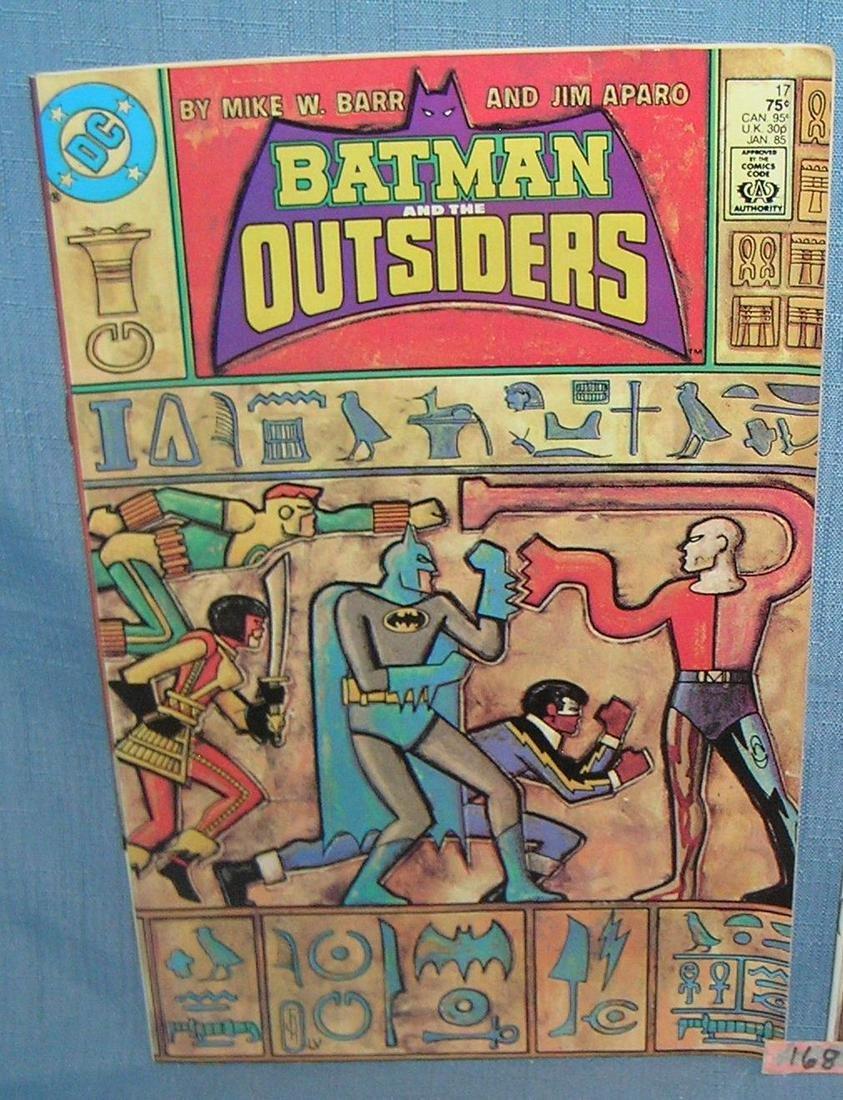 Vintage Batman comic book