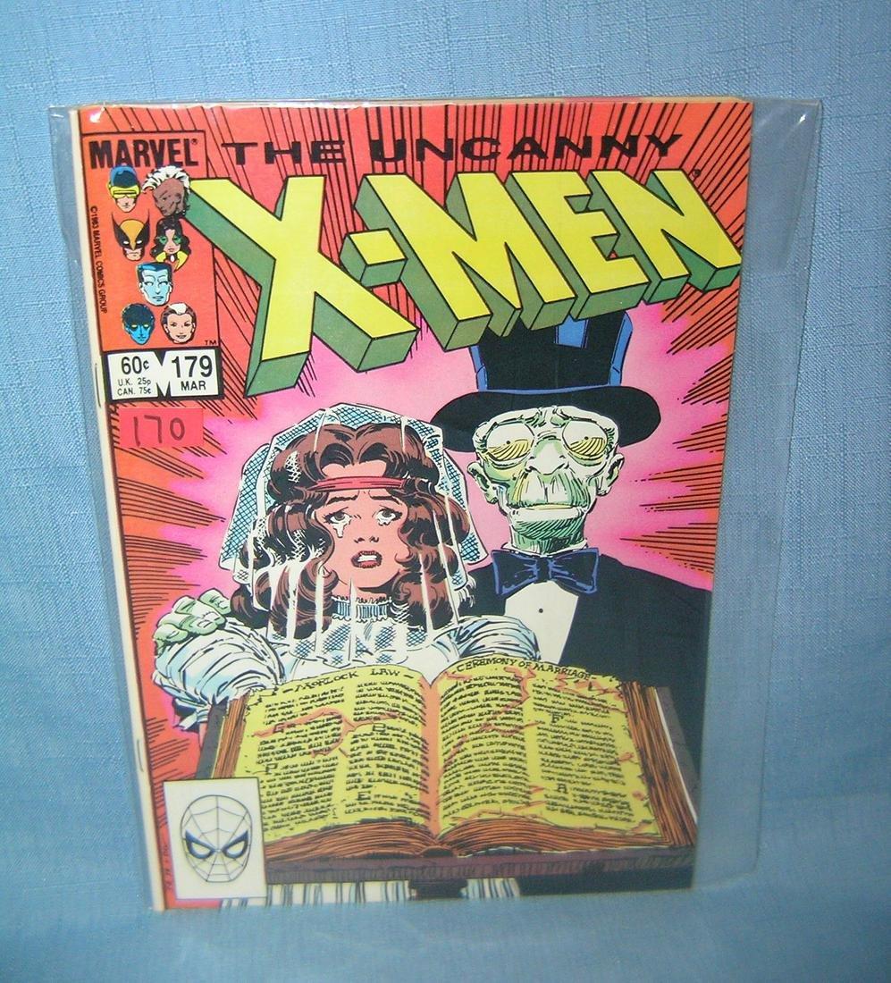 Early Xmen comic book 1983