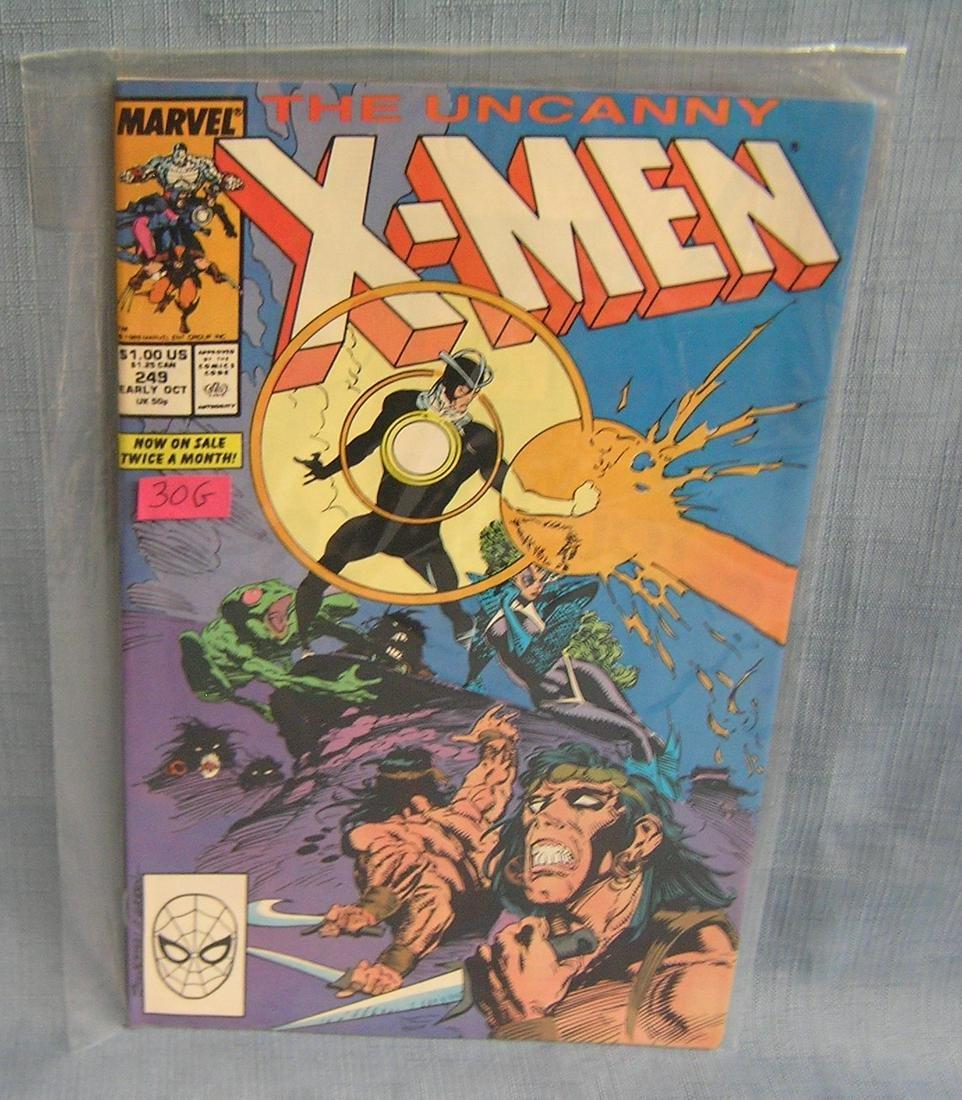 Vintage Xmen comic book