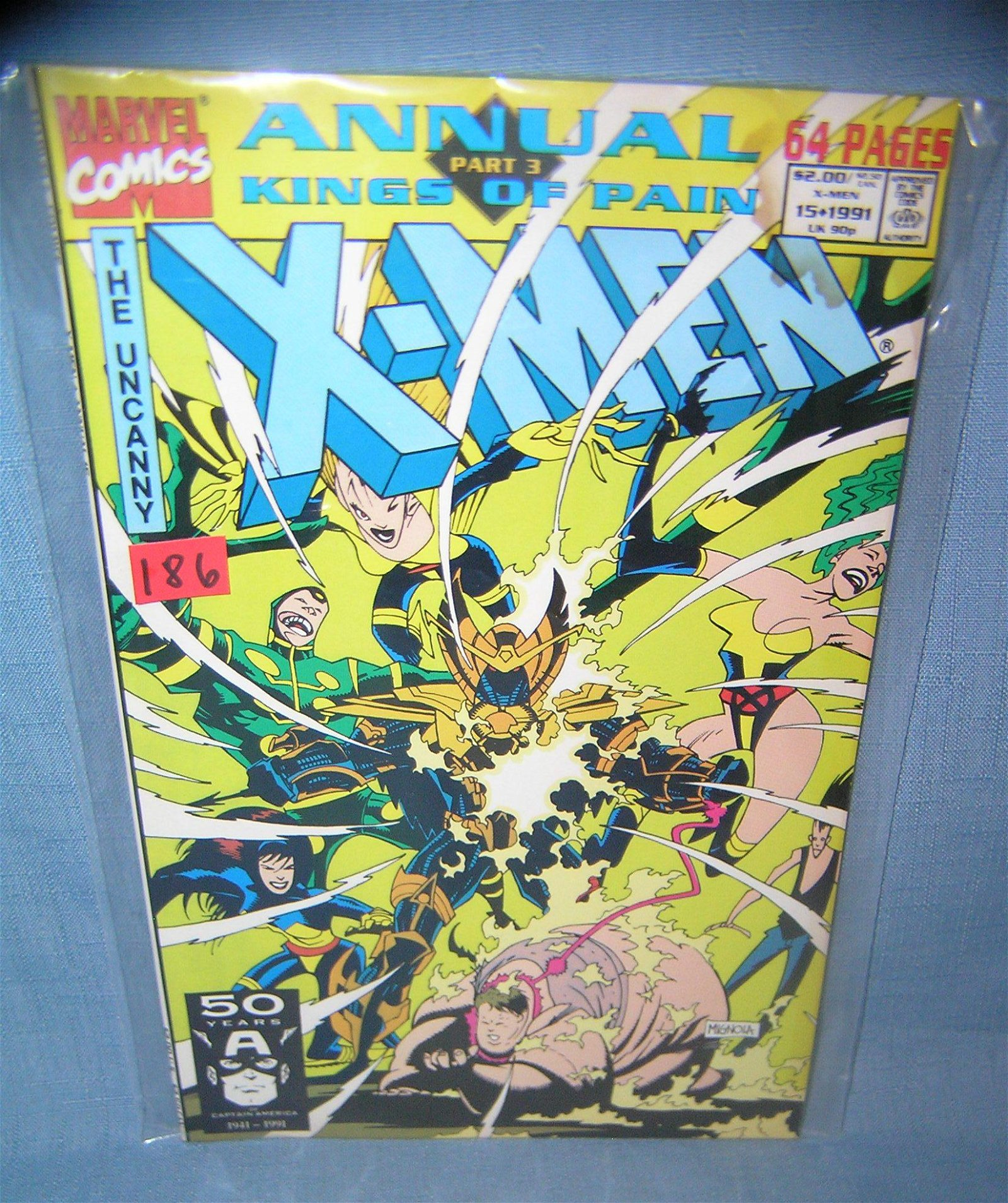 Vintage Xmen annual features Kings of pain