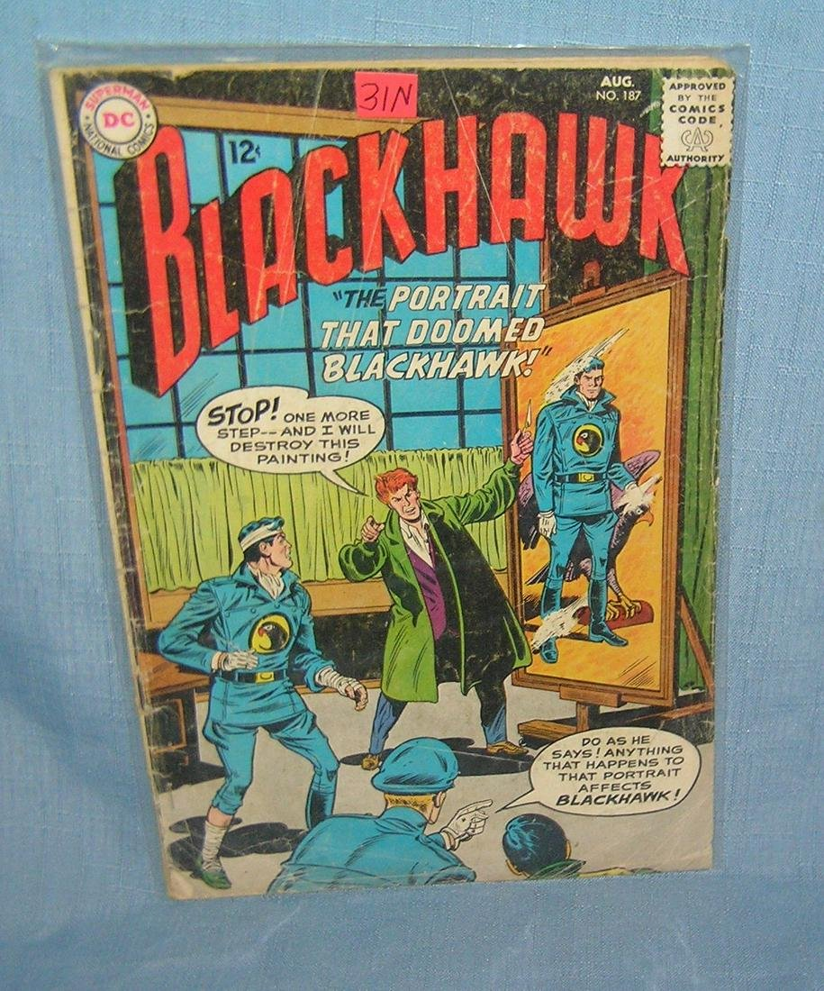 Early Black Hawk comic book great 12 cent cover