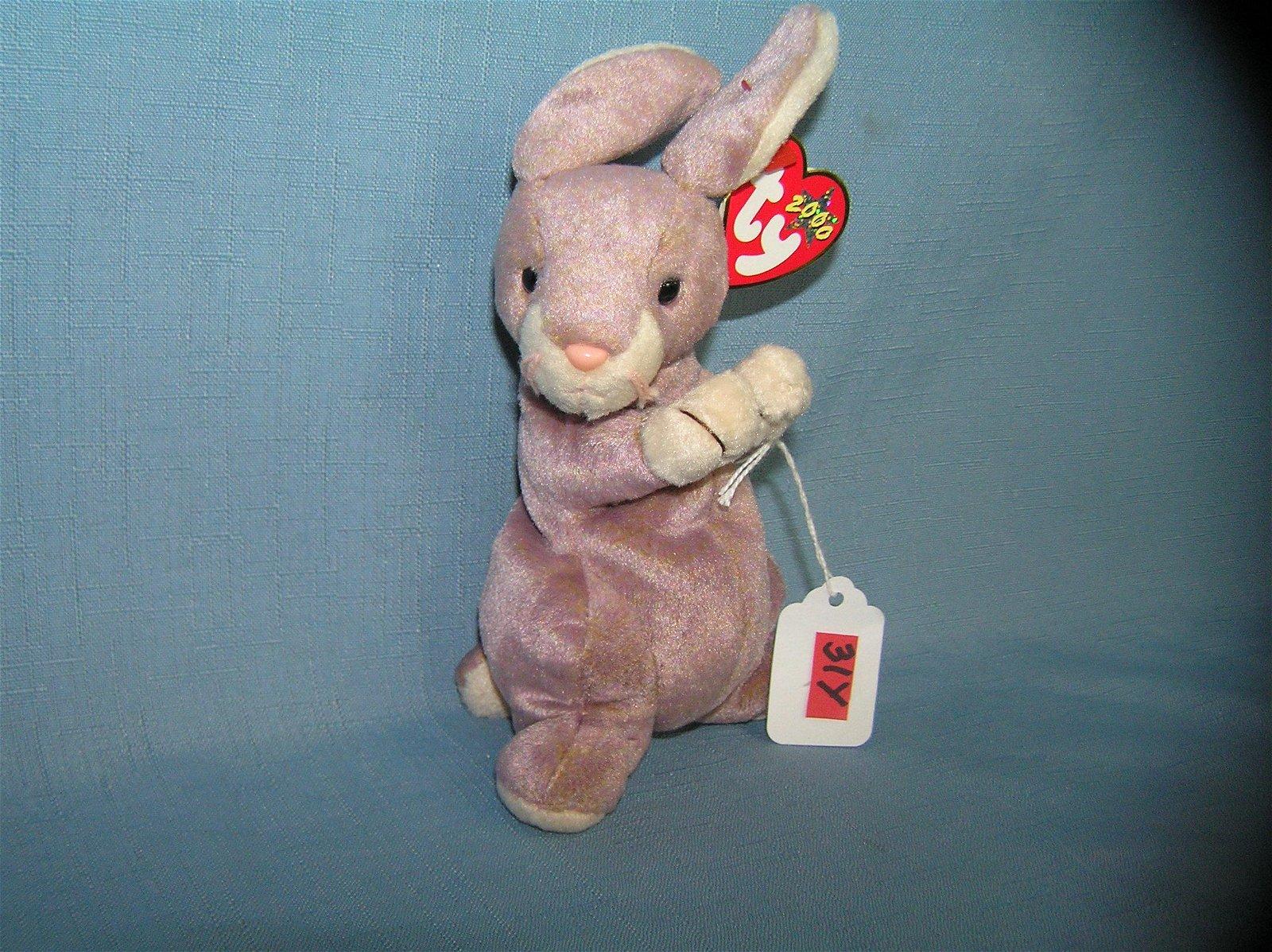 Vintage springy Beanie Baby Rabbit