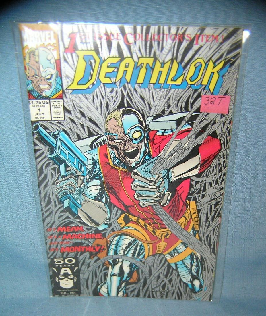 Death lok first edition comic book