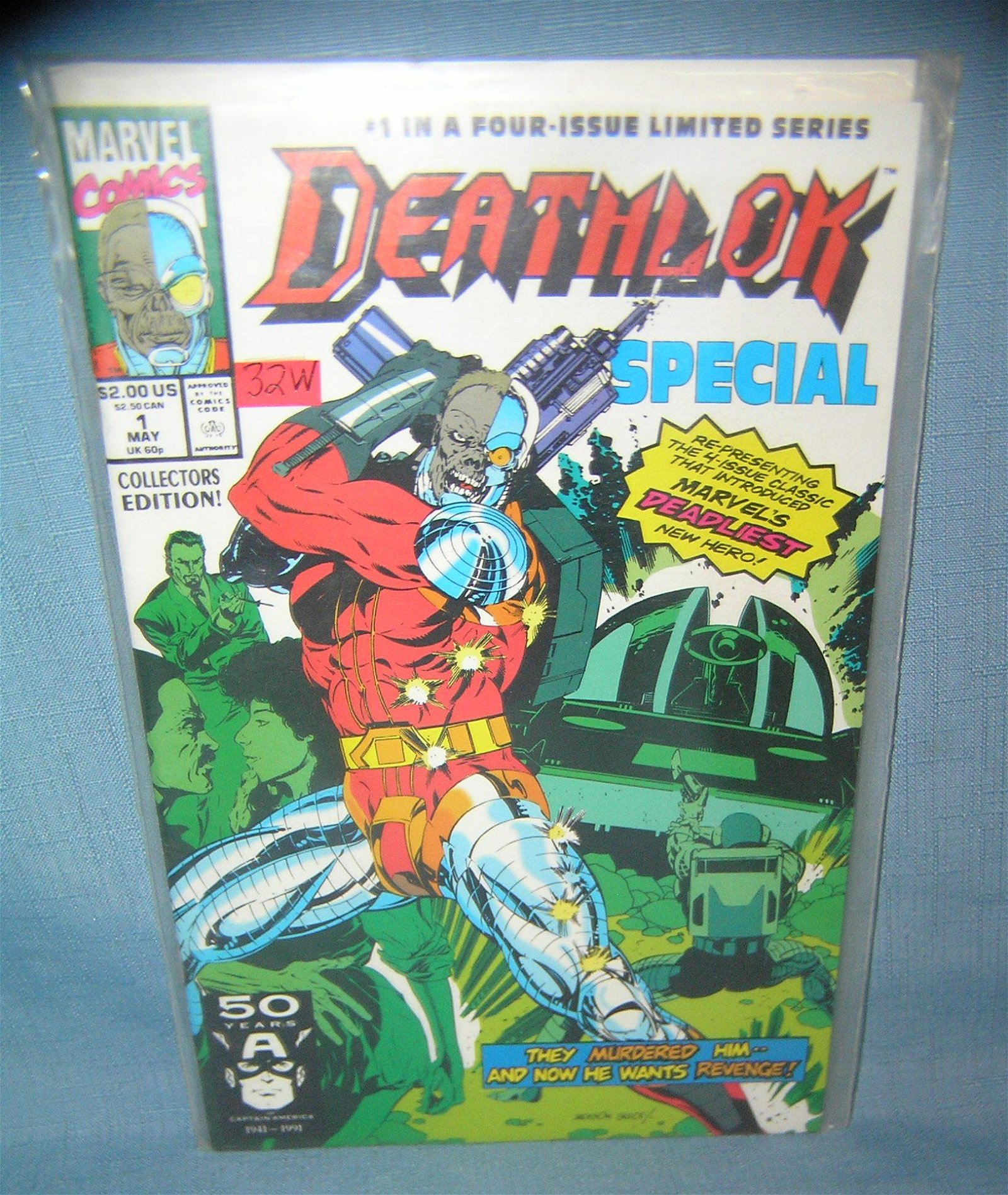 Deathlok first edition special comic book