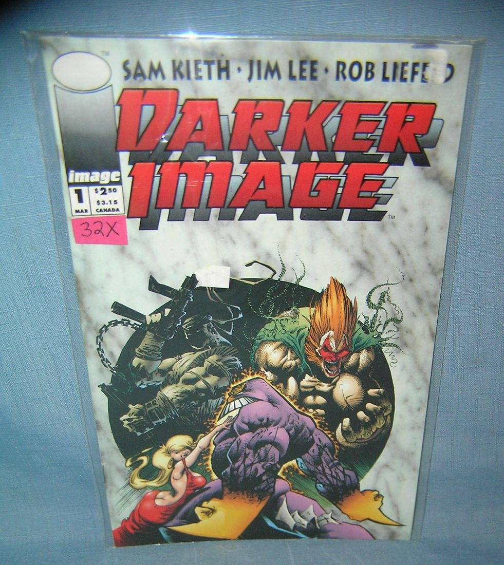 Darker Image first edition comic book