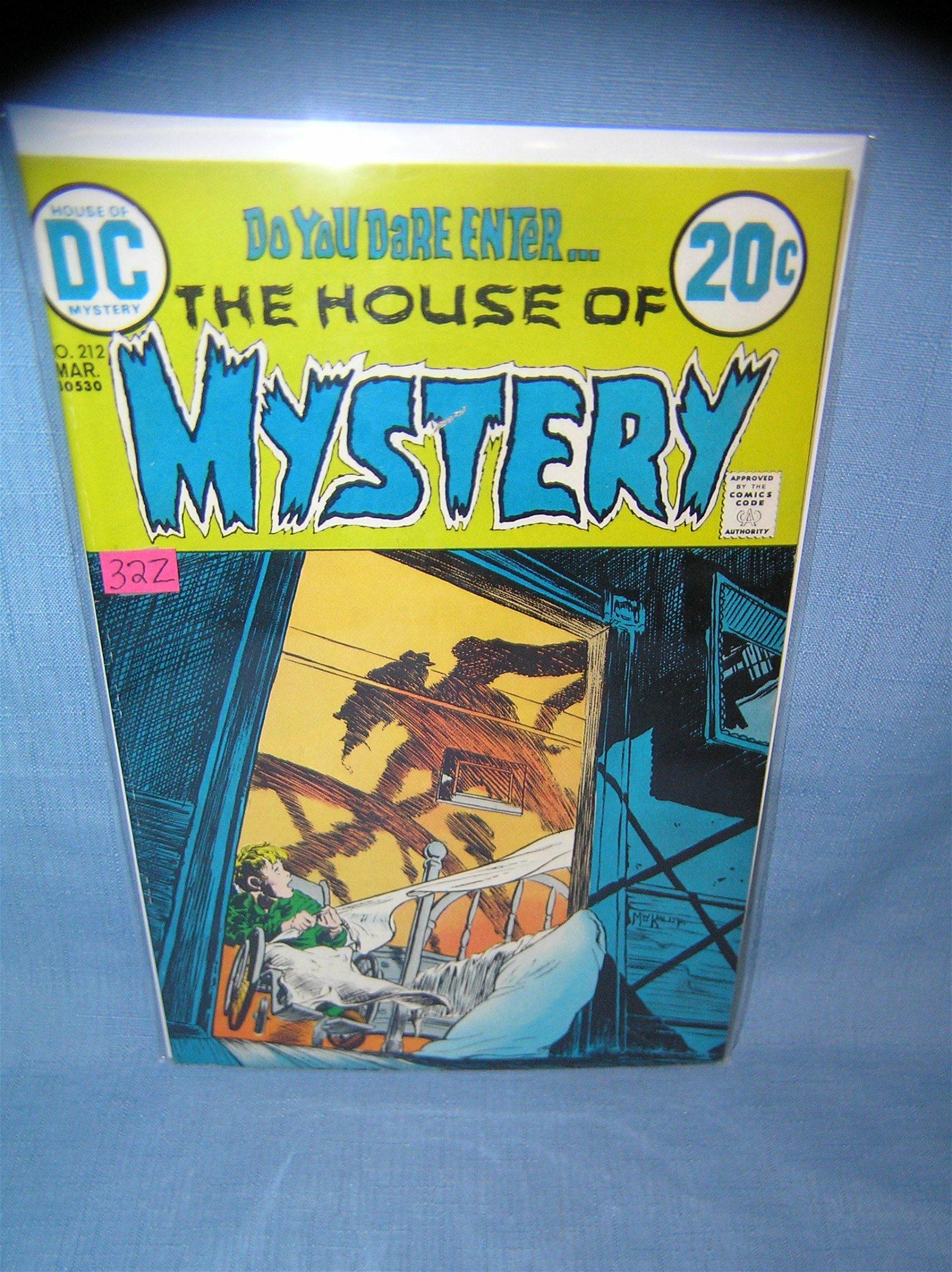 Vintage House of Mystery comic book