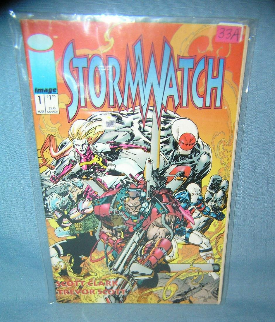 Storm Watch first edition comic book