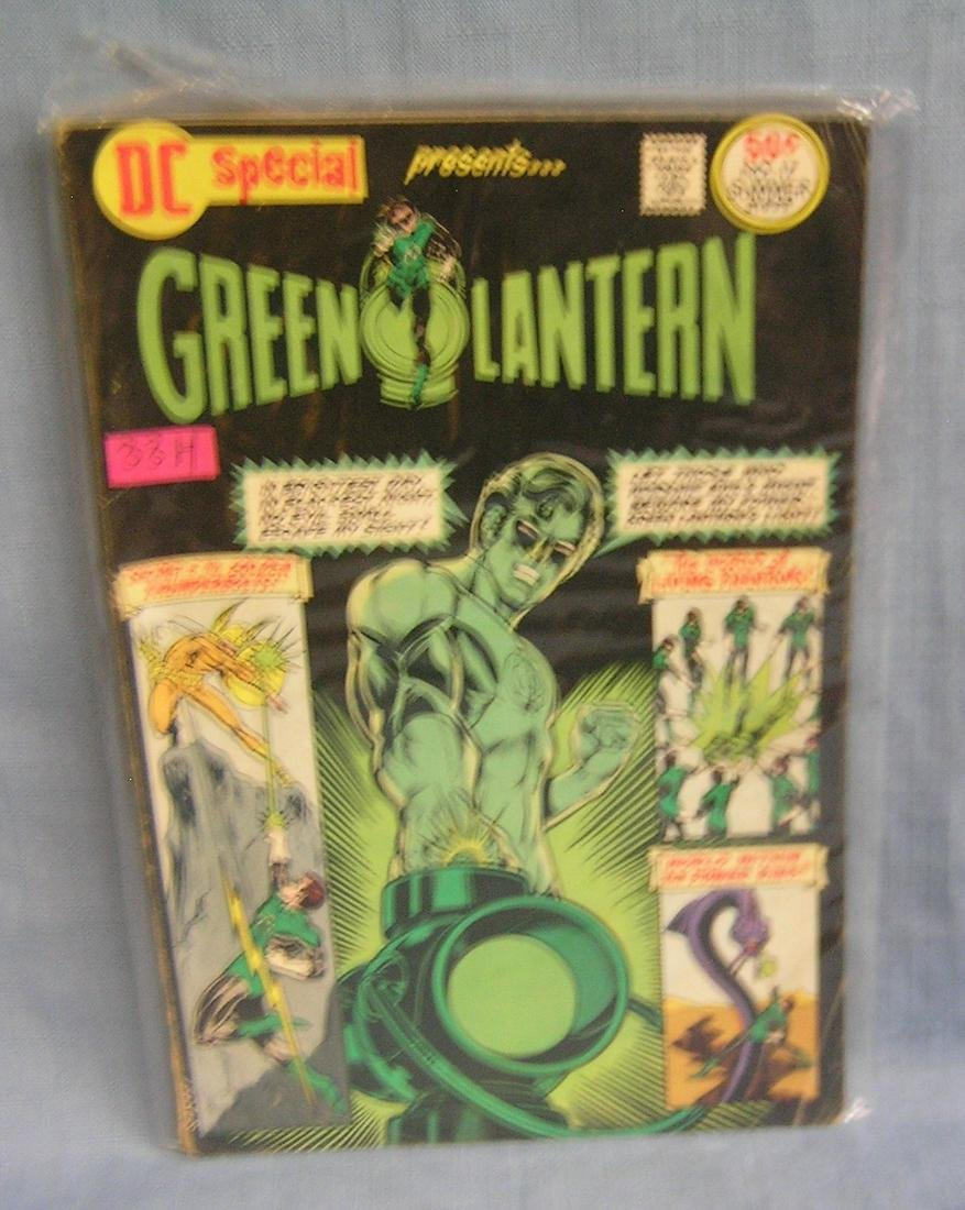 Green Lantern DC special over sized comic book