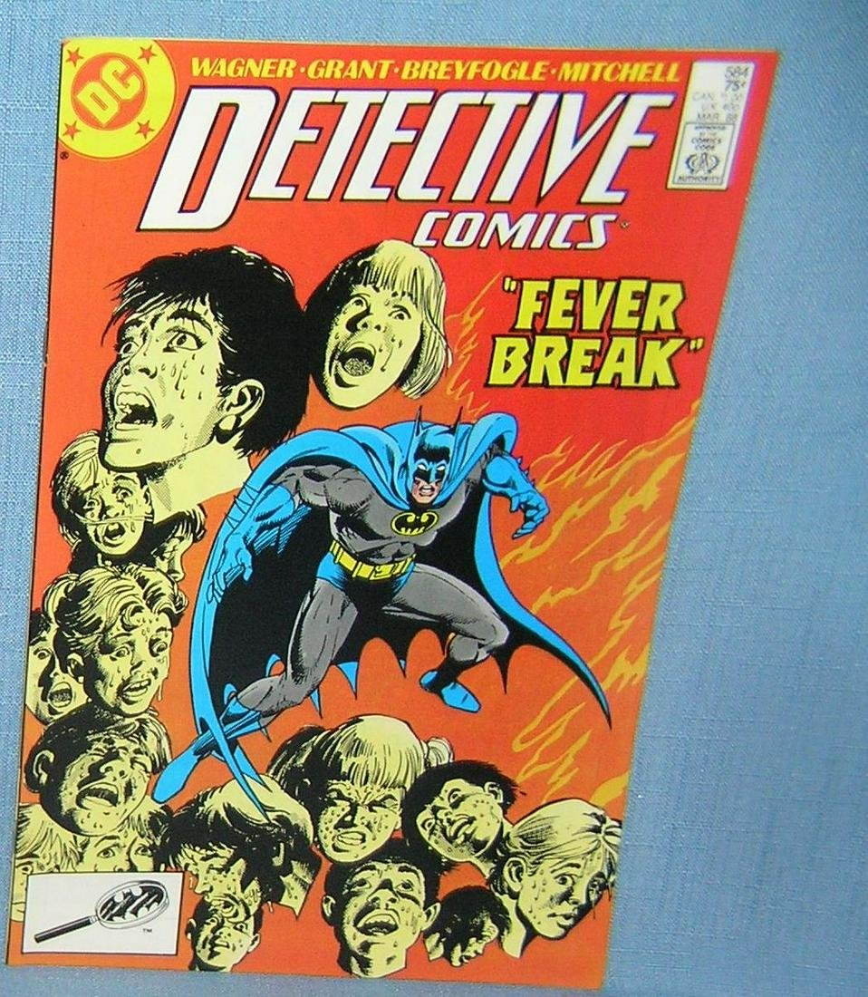 Vintage Detective comic book featuring Batman