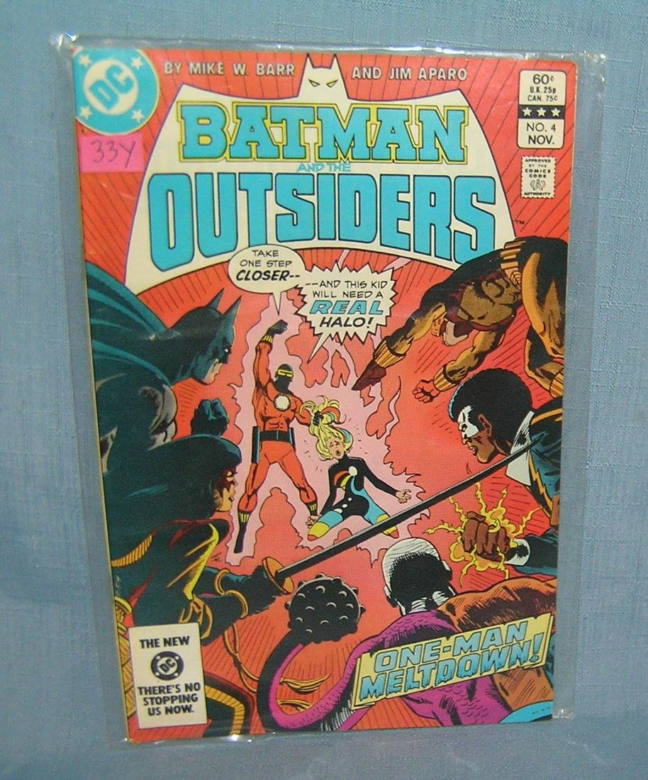 Vintage Batman and the Outsiders  comic book