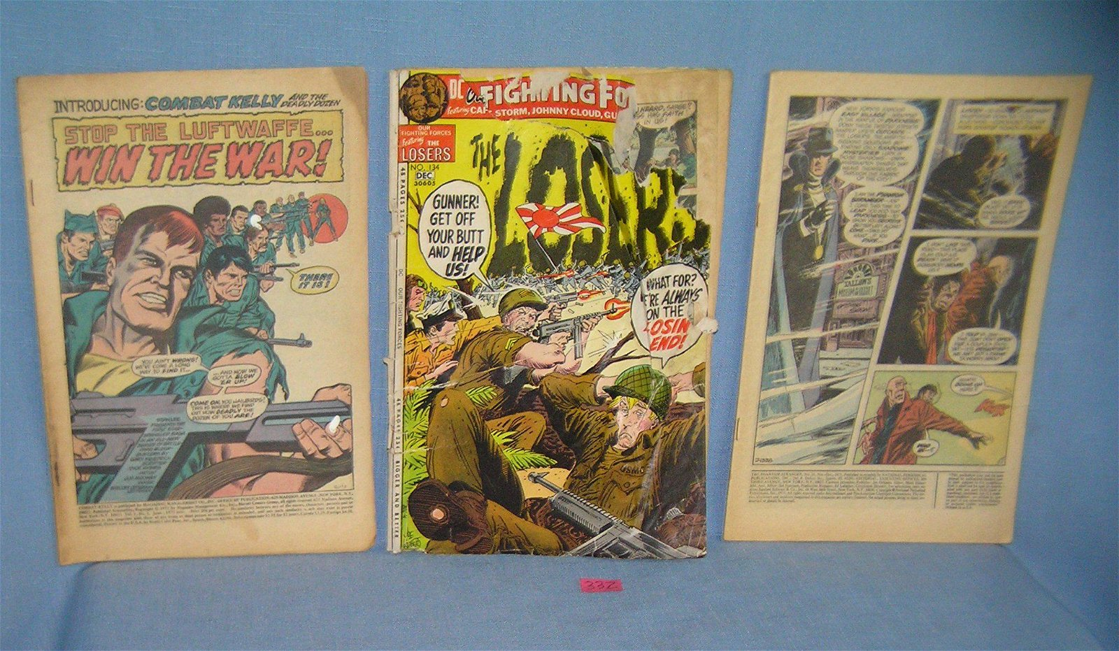 Group of 3 early comics