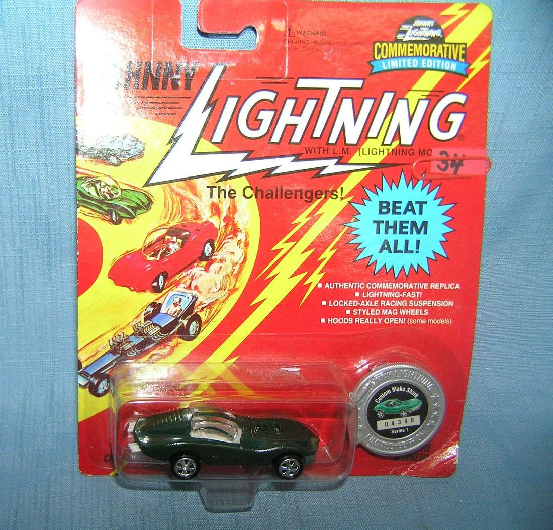 Vintage Johnny Lightning the Challengers custom car